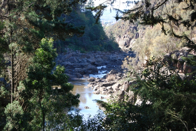 Cataract gorge a week later